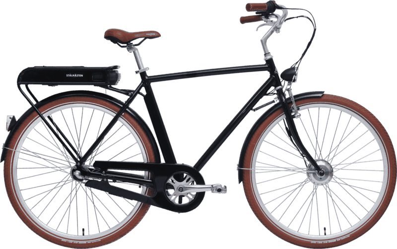 Prima elcykel Svart