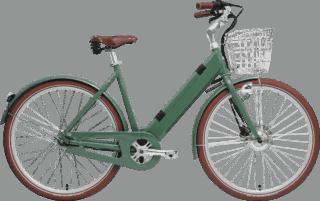 Suverän elcykel grön