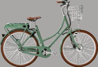 Prima Elcykel Grön