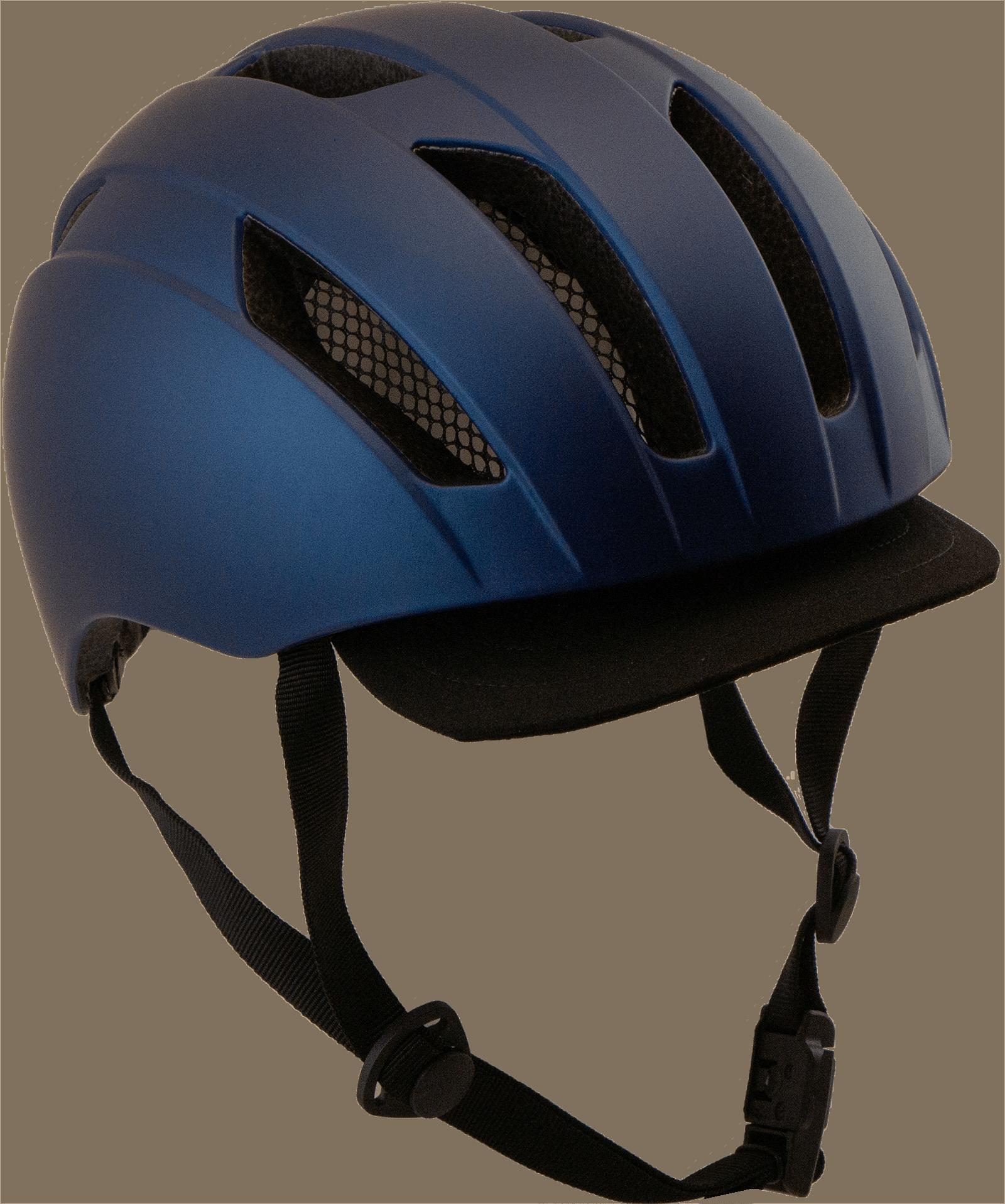 Cykelhjälm Blå