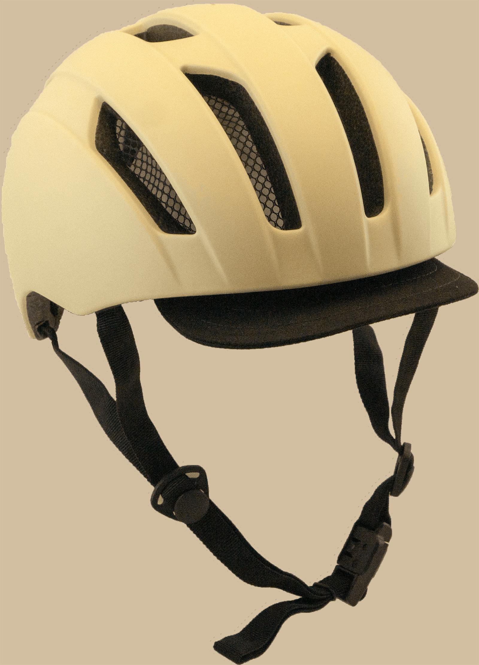 Cykelhjälm Cream
